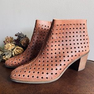 Lucky Brand • Eyelet Ankle Boots